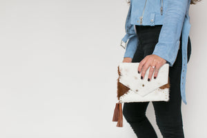 The Rivet Envelope Clutch