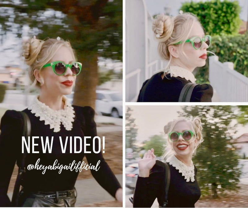 Want to smile today? Check out @heyabigailofficial's Tidal Hair Stick Video