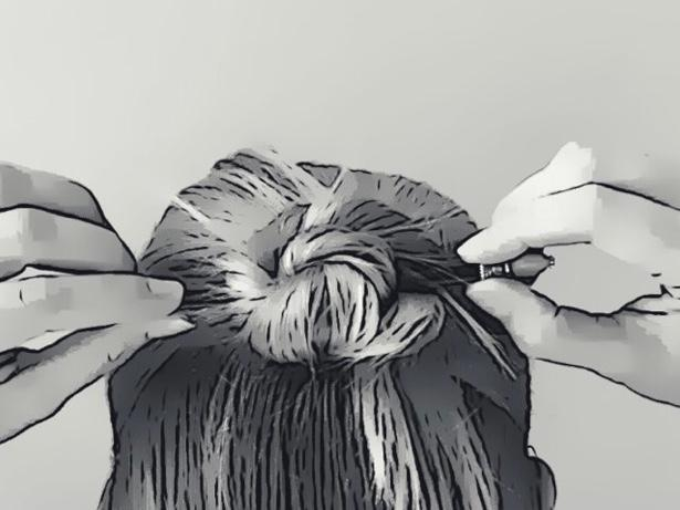 How to use Hair Sticks: Part 4