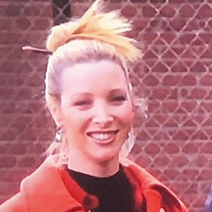 Phoebe Buffet wears Hair Sticks in late 90's Friends TV show