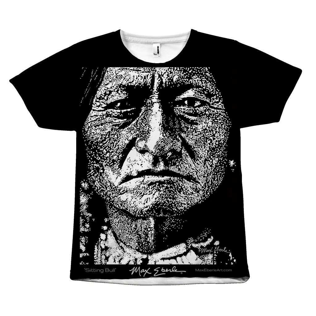 Sitting Bull Full Print Tee Shirt