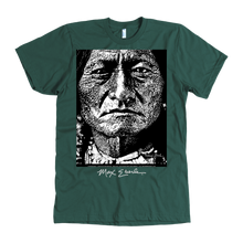 Sitting Bull American Apparel Mens Tee