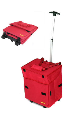 Cooler Smart Cart - Red - Trolley Dolly  cool - Storage & Organization,dbest products - dbest products, Inc