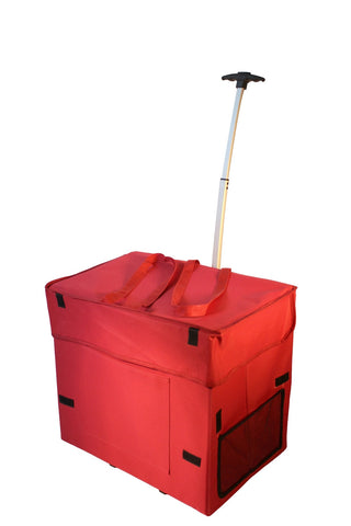 Wide Load Smart Cart - Red - Trolley Dolly   - Storage & Organization,dbest products - dbest products, Inc