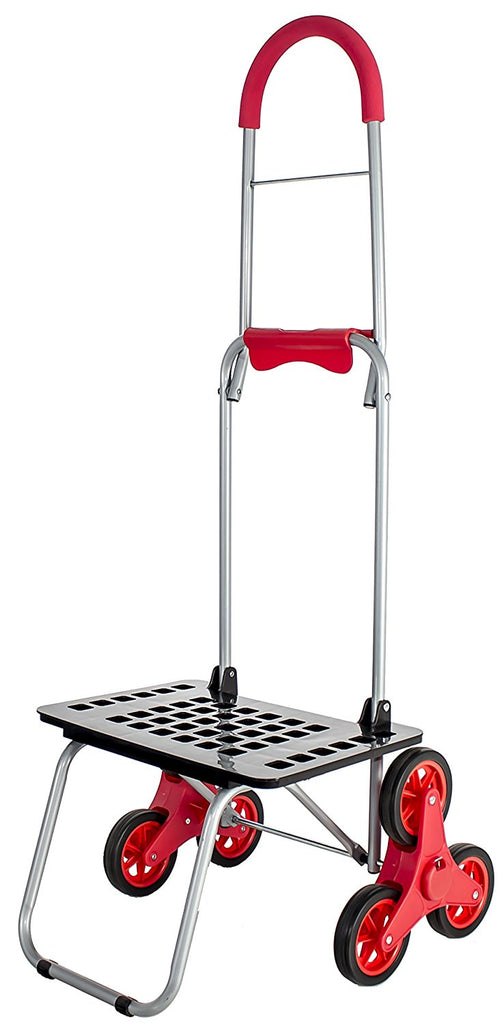 Stair Climber Bigger Mighty Max Dolly Red Dbest