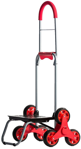 Stair Climber Mighty Max II - Red - Trolley Dolly   - Storage & Organization,dbest products, Inc - dbest products, Inc