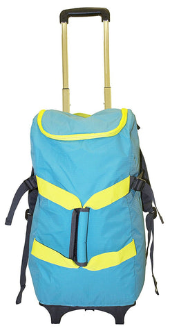 Smart Backpack - Teal/Yellow - Trolley Dolly  Smart Backpack - Storage & Organization,dbest products - dbest products, Inc