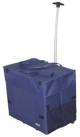Wide Load Smart Cart - Blue - Trolley Dolly   - Storage & Organization,dbest products - dbest products, Inc