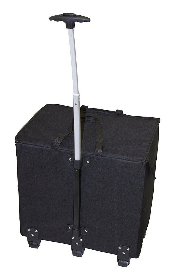 Wide Load Smart Cart - Black - Trolley Dolly   - Storage & Organization,dbest products - dbest products, Inc