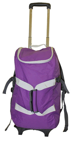 Smart Backpack - Purple/Grey - Trolley Dolly  Smart Backpack - Storage & Organization,dbest products - dbest products, Inc