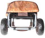 Wine Barrel Cooler Trolley Dolly - Oak - Trolley Dolly   - Storage & Organization,dbest products, Inc - dbest products, Inc