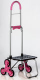 Stair Climber Bigger Mighty Max Dolly - Pink - Trolley Dolly  dolly - Storage & Organization,dbest products - dbest products, Inc