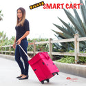 Woman with Bigger Smart Cart.