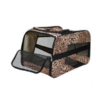 Pet Smart Cart Carrier - Cheetah - Small - Trolley Dolly   - Storage & Organization,dbest products - dbest products, Inc