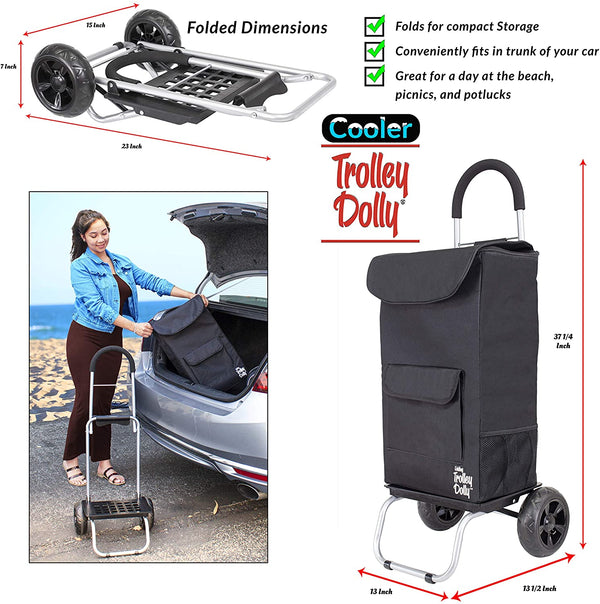 Cooler Trolley Dolly - Black