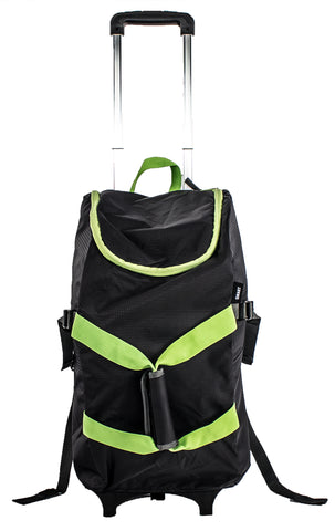 Smart Backpack - Black/Green - Trolley Dolly  Smart Backpack - Storage & Organization,dbest products - dbest products, Inc