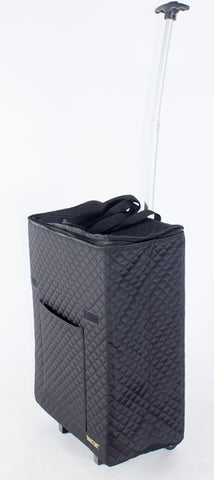 Travelux: Smart Cart Shopper Quilted - Black