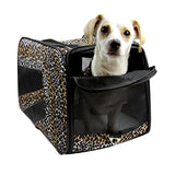 Pet Smart Cart Carrier - Leopard - Small - Trolley Dolly   - Storage & Organization,dbest products - dbest products, Inc