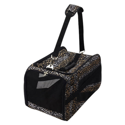 Pet Smart Cart Carrier - Leopard - Medium - Trolley Dolly   - Storage & Organization,dbest products - dbest products, Inc