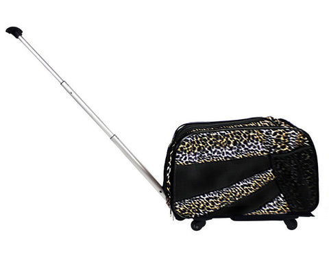 Pet Smart Cart - Leopard, Medium - dbest products, Inc.
