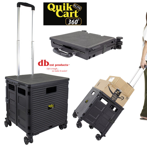Quik Cart Elite 360, Black