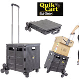 Quik Cart Elite Stair Climber, Black
