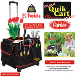 Rolling crate with pockets, garden.
