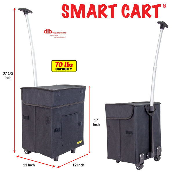 Grocery Shopping Smart Cart dimensions.