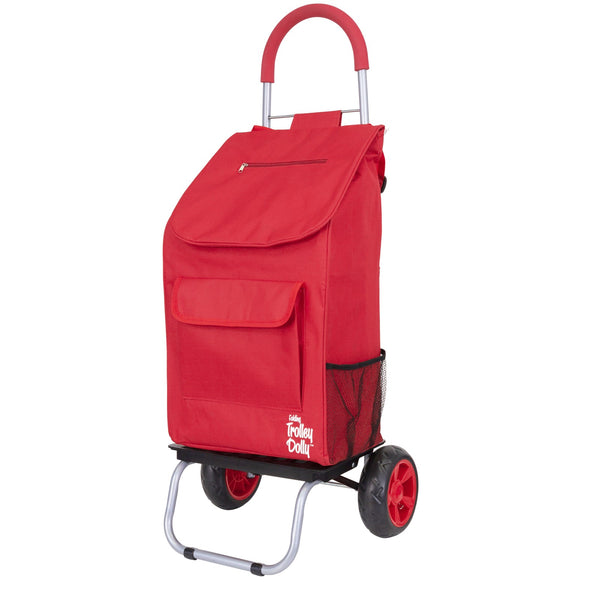 Trolley Dolly Shopping Cart Red.