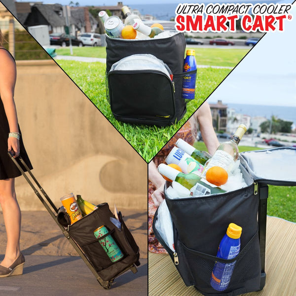 Cooler Smart Cart in use.