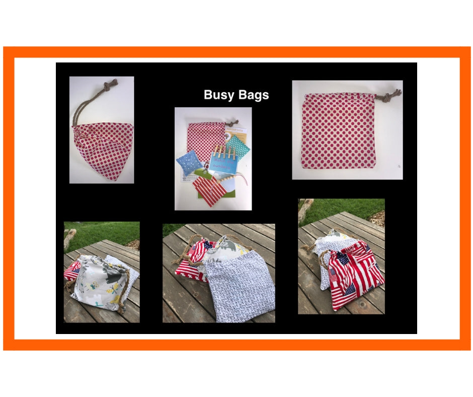 Busy Bags - a how to!