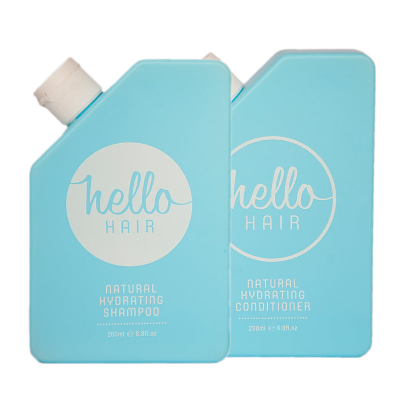 Hello Hair Hydrating Shampoo and Conditioner Duo