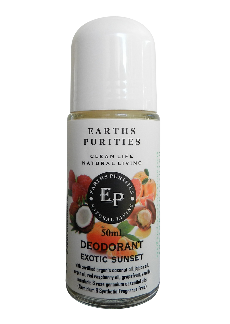 Earths Purities - Exotic Sunset - Liquid Roll on Deodorant