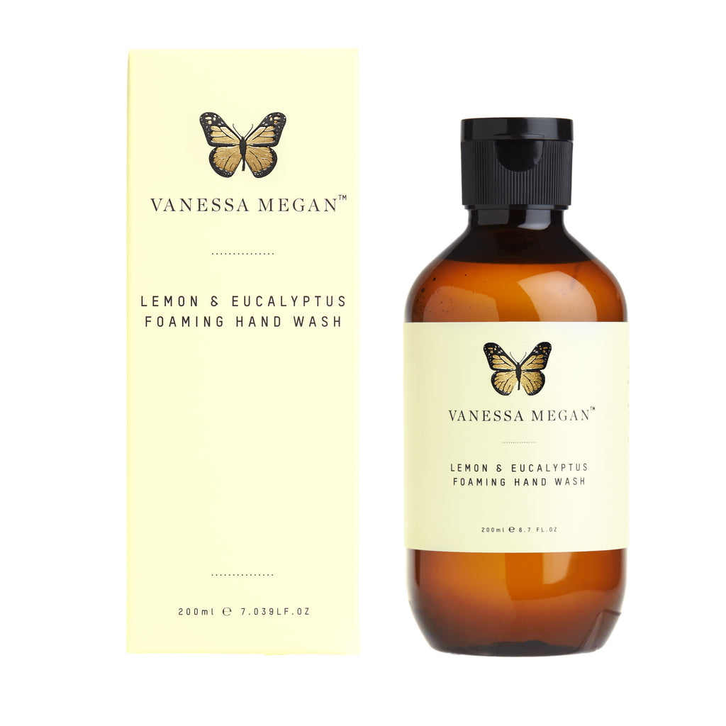 Vanessa Megan Lemon Eucalyptus Foaming Hand Wash 200ml