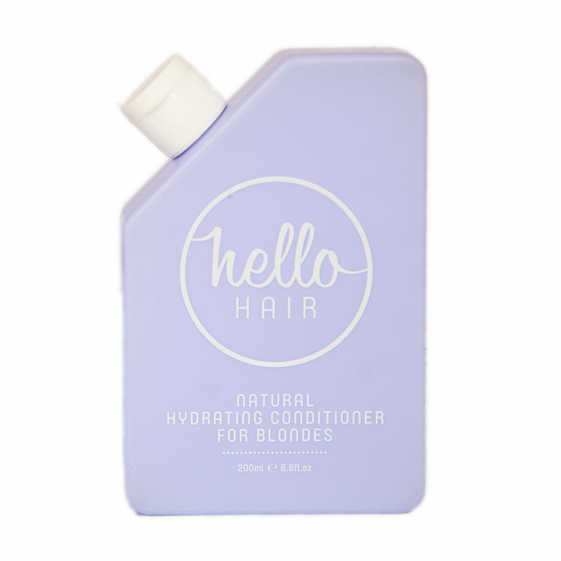 Hello Hair Natural Hydrating Conditioner for Blondes 200ml