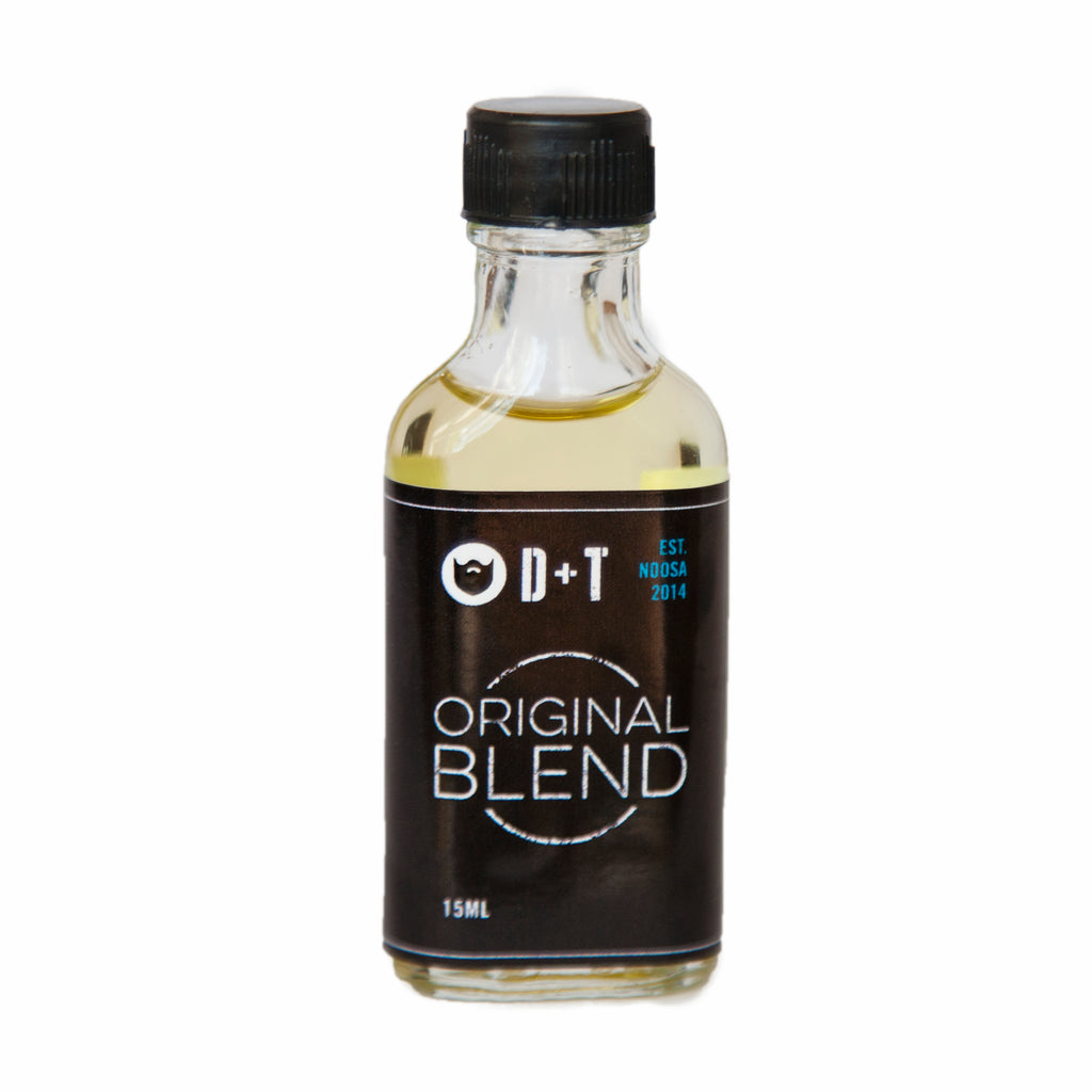 D + T Beard Oil - Original Blend 15ml