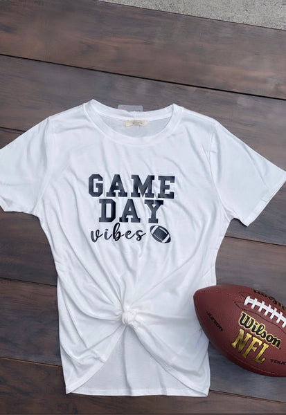 * Game Day Vibes Round neck top *