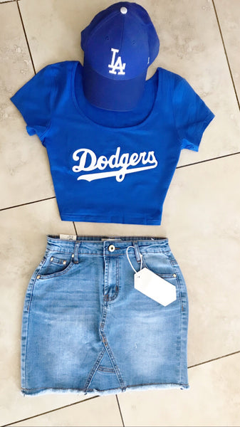 D T-Shirt crop Top *