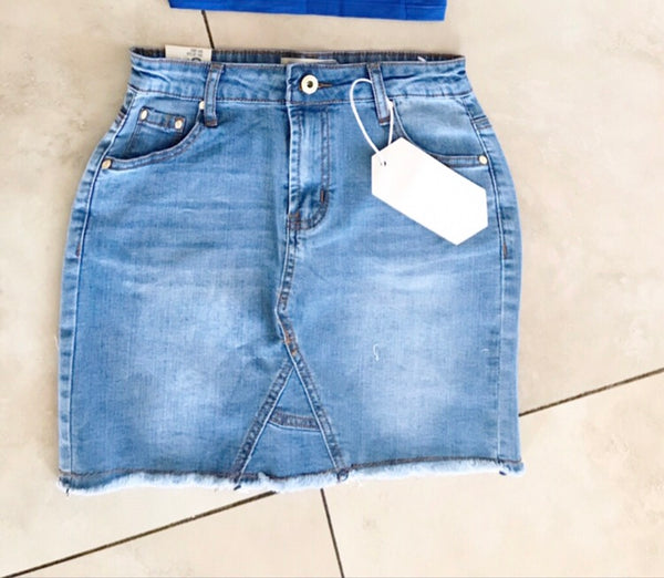 WC Denim Game skirt