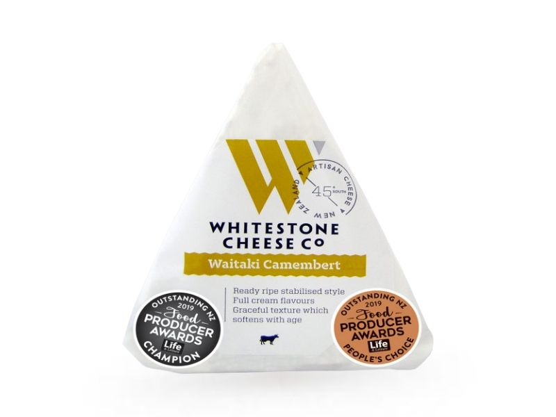 Whitestone Waitaki Camembert Cheese (110g)