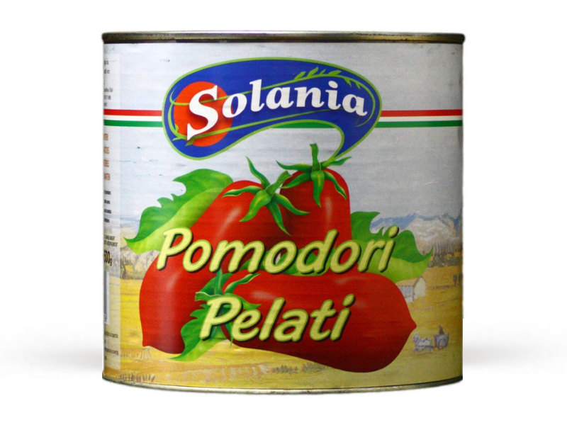 Tomatoes whole peeled tin (2.5kg)