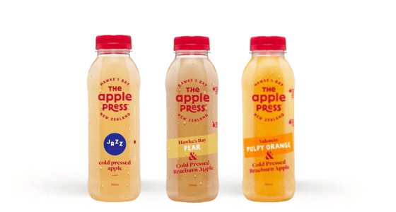 The Apple Press Juice Bundle (3 x 350ml bottles)