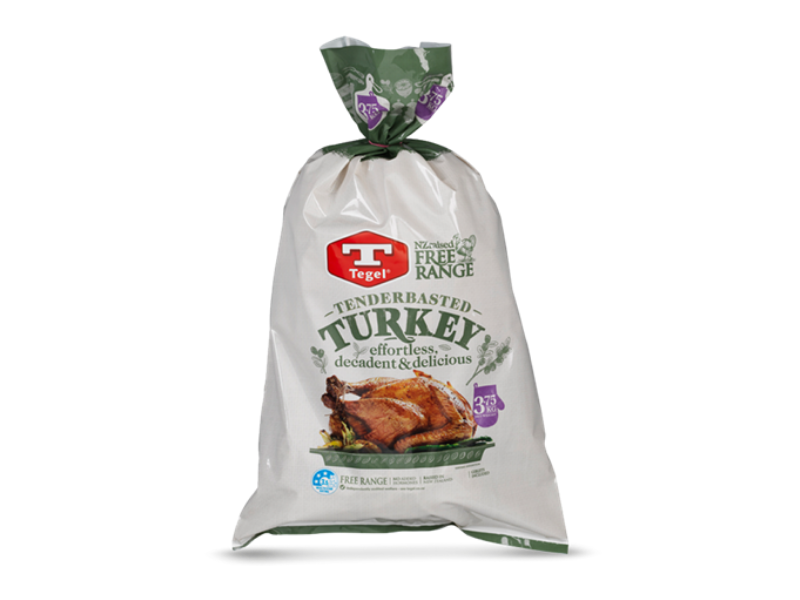 Free-Range Turkey (Whole, Frozen, min. 3.8kg)