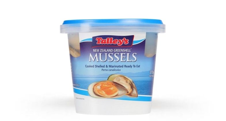 Talleys Cooked Marinated Greenshell Mussels (Original, 375g)