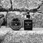 Coffee & Leather Beard Oil & Balm Set