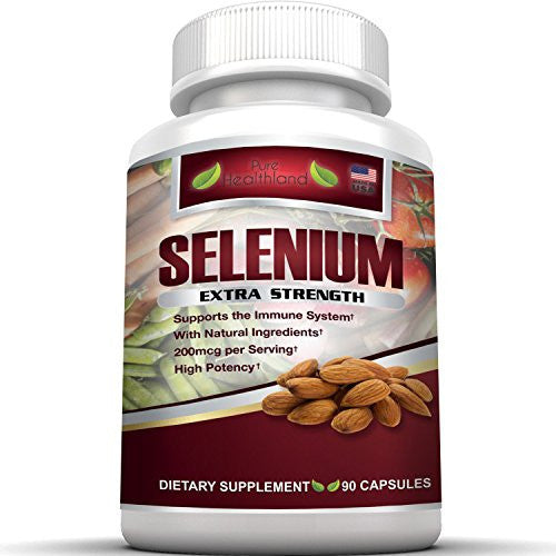 Selenium Supplement 200mcg By Pure Healthland