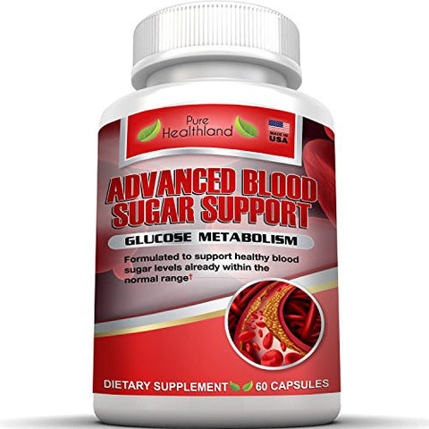 Natural Blood Sugar Control Support Supplements Pills