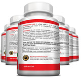 NON GMO Cranberry Concentrate Supplements Pills for Urinary Tract Infection - UTI - 6 Bottles
