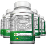 Daily Multivitamin Liquid Filled Capsules For Men and Women Over 40, 50, 60, and Seniors - 6 Bottles