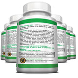 NON GMO Superfoods Based Super Daily Multivitamin Tablets With Vegan Coating Suitable for Vegans and Vegetarians- 6 Bottles